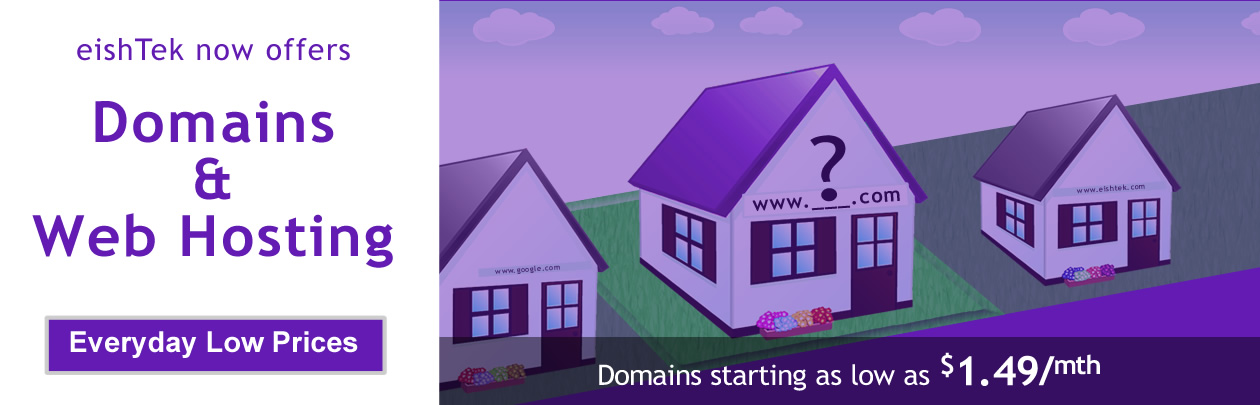 Low-Cost Domains and Hosting