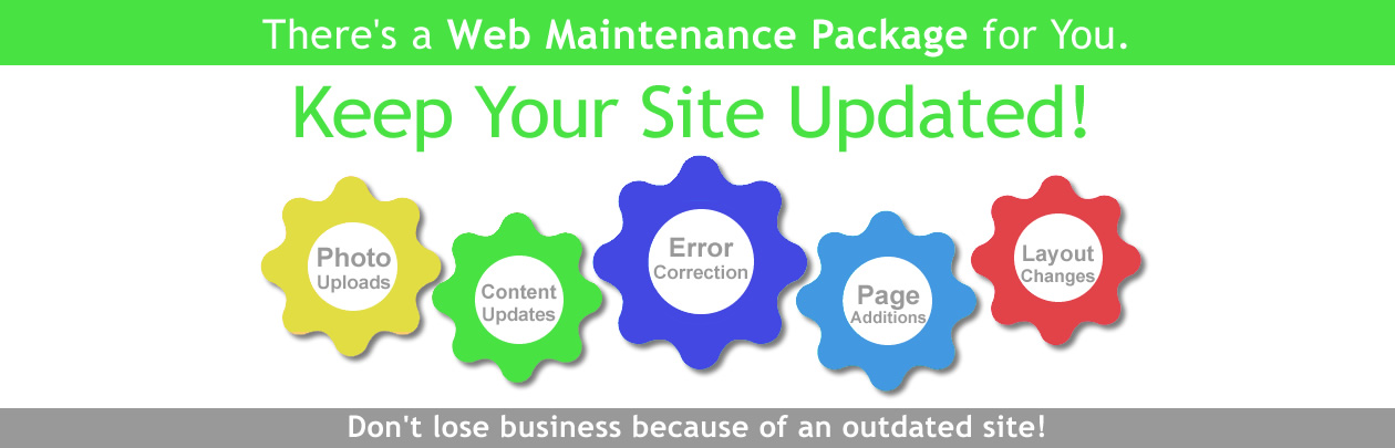 Keep Your Site Updated!